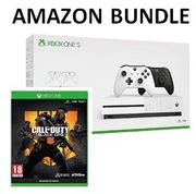 Xbox One S 1TB Console - TWO Controller Bundle + COD Black Ops 4