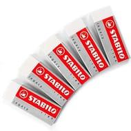 Large White Eraser 5 Pack
