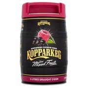 Kopparberg Keg 5L Mixed Berry / Strawberry and Lime