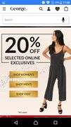 20% off at George