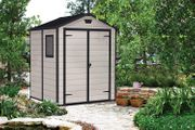 Keter Manor Plastic Garden Shed, 6ft X 5 Ft