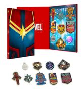 OFFICIAL CAPTAIN MARVEL COLLECTORS PIN BADGE SET Only £4.99
