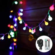 LED Globe String Lights Exterior