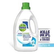 Dettol Antibacterial Laundry Cleanser, Fresh Cotton, 2.5 Litre