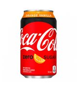 American Sweets Black Friday- Coca Cola ZERO Sugar Orange Vanilla 29p a Can