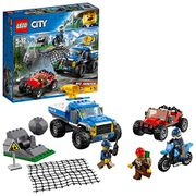 LEGO 60172 City Mountain Police Dirt Road Pursuit Pickup 4x4 Car