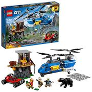 LEGO 60173 City Mountain Police Mountain Arrest Chase Chinook Helicopter