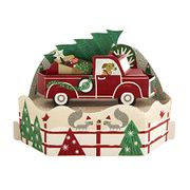 Pop-up 3D Christmas Card from Hallmark - Paper Wonder Christmas Car Design