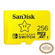 SanDisk microSDXC UHS-I Card for Nintendo Switch, 256 GB