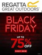Regatta BLACK FRIDAY SALE - up to 75% OFF