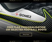 10% off Selected Football Boots