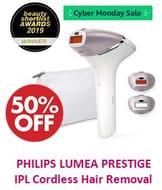 Philips Lumea Prestige IPL Cordless Hair Removal Device for Body, Face, Bikini