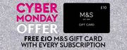 FREE £10 M&S Card with Subscription Min £10