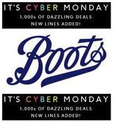 Boots CYBER MONDAY DEALS