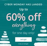 Up to 60% off at Photobox - Cyber Monday