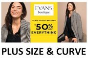 EVANS - CYBER MONDAY - up to 50% OFF