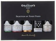 GREAT GIFT FOR MEN! Grahams Mini Port Wine Selection - Gift Pack (5 X 5 cl)