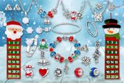 Christmas Jewellery Advent Calendar Made with Crystals from Swarovski