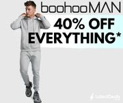 Cyber Week - 40% off ALL Menswear at boohooMAN