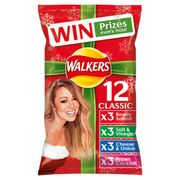 Walkers Classic Variety Crisps 12 Pack - Save £1!