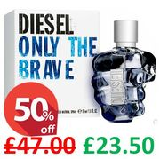 DIESEL ONLY the BRAVE 50ml **4.7 STARS** FREE DELIVERY