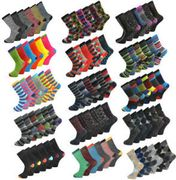 6 Pairs of Men's Socks in 20 Different Designs £3.99 Delivered