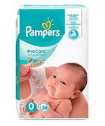 Pampers Size 0 Nappies Procare