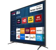 """*SAVE £50* Sharp LED HDR 4K Ultra HD Smart TV, 43"""" with Freeview HD 5yr G'tee"""