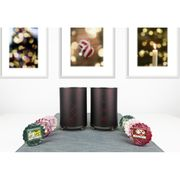 Yankee Candle PAIR of PINECONE MELT WARMERS + 6 FESTIVE TARTS