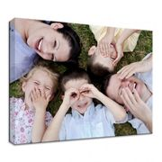 A4 Personalised Photo Canvas Only £2!