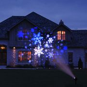Snowflake and Snow Droplets Light Projector