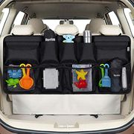 Car Back Seat Organizer with 9 Pockets Backseat Organizer
