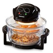 Daewoo 17L Halogen Air Fryer Low Fat Oven - Black £21.66 with Code