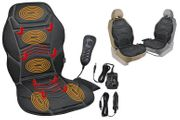 Heated Back & Seat Massager with Remote Control