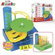 Lightening Deal Stack - TechMagnet Compact Electric Marble Run Set (prime)