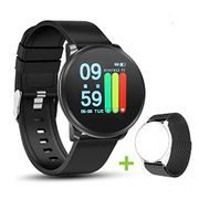 Smart Activity Tracker with Heart Rate Monitor Sleep Tracking, Waterproof IP67