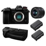 Panasonic Lumix G9 Digital Camera with 25mm Lens DMW-BGG9E Battery Grip
