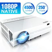 50% off - ABOX Projector Full HD 1080P Native
