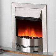 £20 off Dimplex Elda Stainless Steel Inset Electric Fire