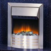 £30 off Dimplex Aspen Stainless Steel Inset Electric Fire