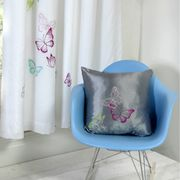 Butterflies Filled Cushion at Onlinehomeshop - Only £4.99!