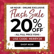 Flash Sale 20% Off
