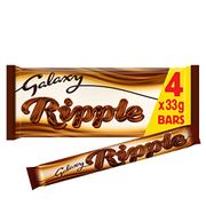 (Amazon Pantry) Galaxy Ripple Milk Chocolate Bars Multipack 4 X 33 G