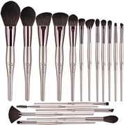 Champagne Gold Makeup Brush Set Professional Make up Brush Set for Face and Eye