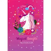 A5 Casebound Unicorn Magical Thoughts Notebook