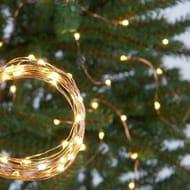 Argos Home 120 Warm White LED Copper String Lights - 9m