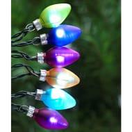 Argos Home 40 Multicoloured Retro Bulb LED Lights - 7m