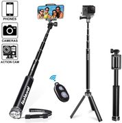 "50% off on 45"" Super Long Aluminum Alloy Selfie Stick Tripod"