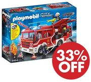 Amazon Deal of the Day - Playmobil Fire Engine with Working Water Cannon