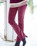 50% off Knitted Stripe Tunic and Stretch Cord Jeans Orders at Cotton Traders
